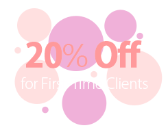 20% Off for Fist-Time Clients